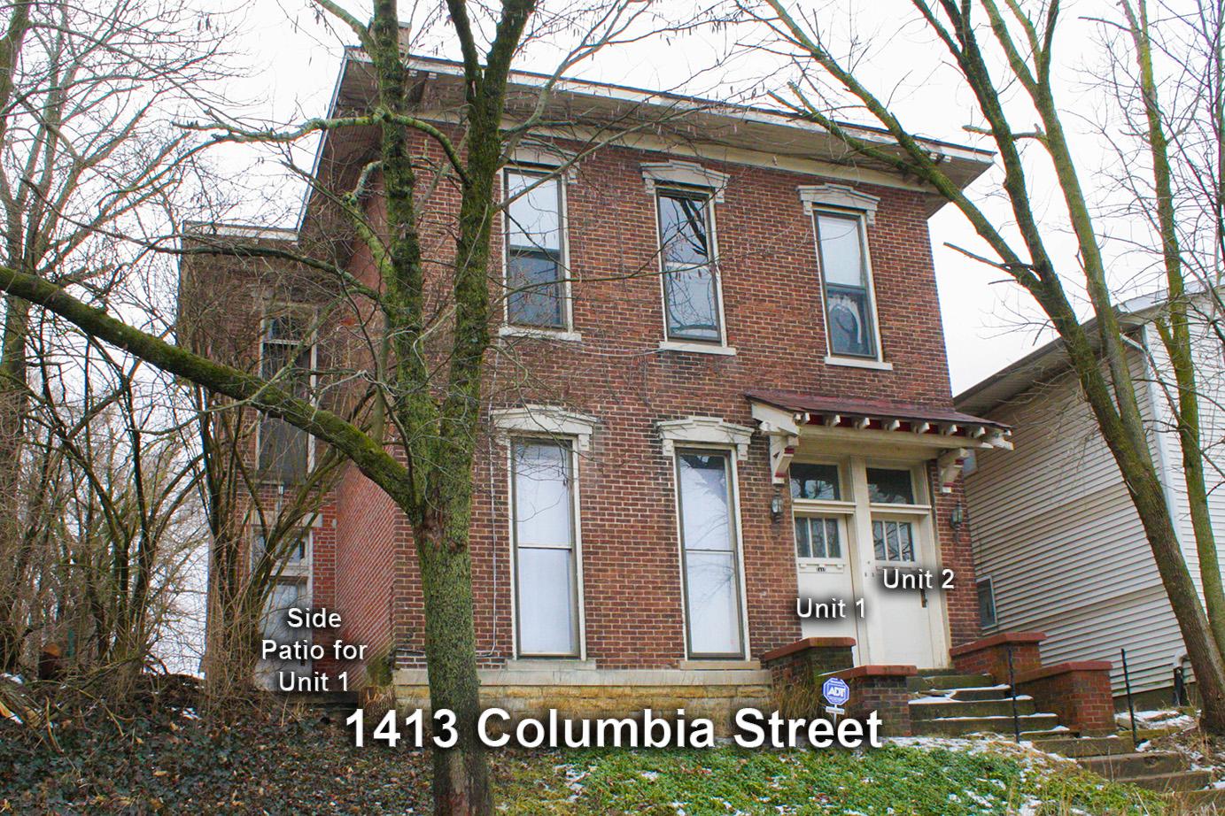 1413 Columbia Street Apt 1 – Lafayette, IN