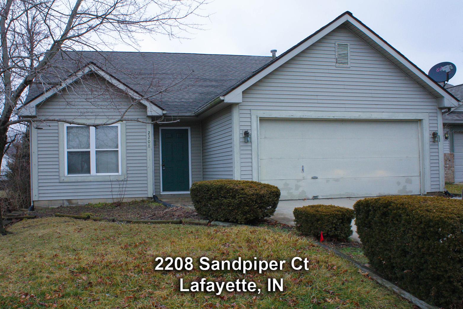 2208 Sandpiper Ct – Lafayette, IN